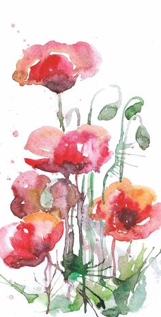 Red Poppies Wall Art Botanical Set of 3 prints, Abstract Floral art print Watercolor Flowers Decor, Painting, Watercolour Poppy paint, Three  Set of 3 prints-   high quality fine art prints of my original watercolor painting. It is the work of a watercolor series Portraits of the Heart    Size paper: 14,8 × 21cm,5 4/5 × 8 1/4, A5 (with white borders) - 18.00 $  21 cm x 29,7 cm, 8 1/4 x 11.5/8, A4.(with white borders) - 36.00 $  29,7cm × 42cm, 11,69 × 16,54, A3(with white b...