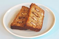 Banana Loaf that ALL the friends can eat:   DAIRY-FREE, GLUTEN-FREE, VEGETARIAN, REFINED SUGAR FREE