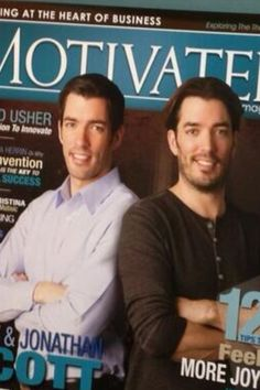 Property Brothers magazine cover
