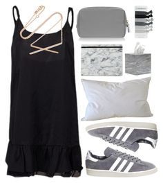 """""""18"""" by geenamichelle ❤ liked on Polyvore featuring adidas, Anya Hindmarch, Pigeon & Poodle, Carbon & Hyde and Natural Comfort"""
