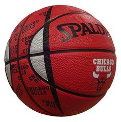 Chicago Bulls Mini Basketball $18.99