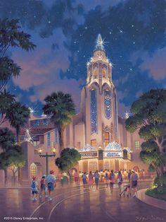 Carthay Circle during the Diamond Celebration, Disney California Adventure, Disneyland Resort - Bryan Jowers