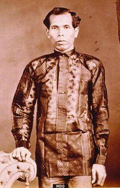 PHILIPPINE Indio - Barong Tagalog - Wikipedia
