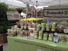 Two sure signs of spring in Copley Square -  The Farmers' Market opening and the yellow tulips!
