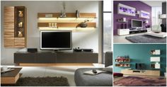 Tv Wall Unit Designs For Living Room In Home Interior Design throughout proportions 1284 X 797 Tv Unit Design For Living Room - Next time you open your Home Interior, Modern Interior Design, Home Design, Design Ideas, Wall Design, Ikea Design, Diy Design, Design Room, Shelf Design