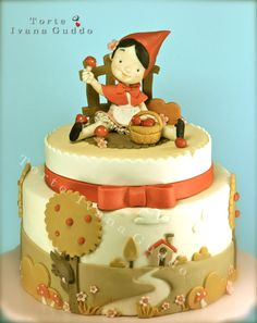 red riding hood cupcake toppers - Google Search
