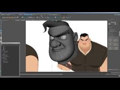 Robin Hood Part 02 - Head Topology (Maya 2016) - YouTube