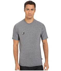ONeill UV Sun Protection Mens Hybrid Rash Tee Black  SM ** Details on product can be viewed by clicking the VISIT button