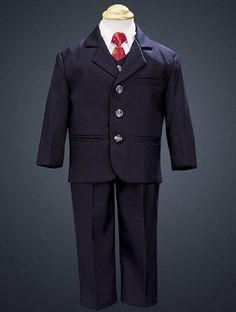 78f4a6a36838 Charlie - 5pc Navy Boys suit. For Sullivan s baptism. So dapper! From http