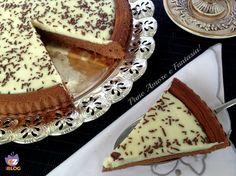 La frolla al cacao con crema al cioccolato bianco è una delizia per il palato, di consistenza morbida, da leccarsi i baffi! Provare per credere...