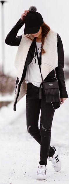 Chic sporty outfit