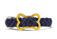 Small Sailor's Knot Collar, Navy on OneKingsLane.com