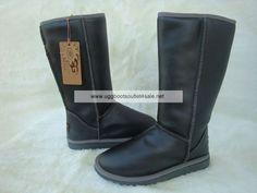 Metallic Tall Ugg Boots 5812 Pewter
