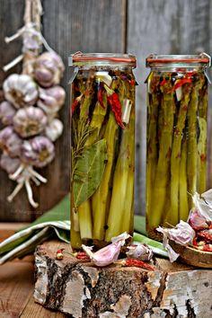 Smaki Alzacji : Marynujemy... dziś zielone szparagi!