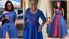 Fashionable Shweshwe Design 2019 Dresses for Ladies African Fashion Designers, African Fashion Ankara, Latest African Fashion Dresses, African Print Dresses, African Print Fashion, African Dress, African Prints, Sesotho Traditional Dresses, South African Traditional Dresses