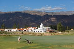 Using the natural existing forms of the land, native grasses and other organic elements, Bob Cupp has created a course that seems to have always been there in La Estancia de Cafayate.