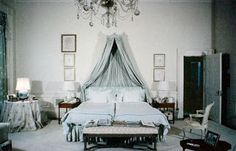 The White House Bedroom of Jackie Kennedy Onassis