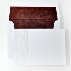 Letterpressed Personal Stationery in Taupe from Haute Papier - PS-D45