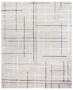 Hotel Collection CLOSEOUT! Area Rug, City Grid CG1 2' x 3', Created for Macy's & Reviews - Rugs - Macy's