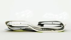 Dutch architect to build gorgeous 'Landscape House' using 3D san-based printer: could save transport, concrete, CO2 too