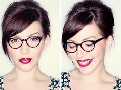 Ombré Glasses, Ombré Lips