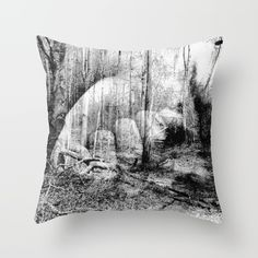 A photographic surreal tale of nature, wonder, and the unexpected. Throw Pillow.