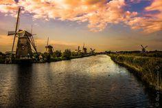 https://flic.kr/p/MjXzek | Kinderdijk Holland | en.wikipedia.org/wiki/Kinderdijk