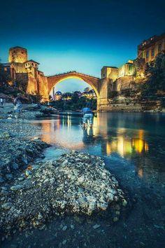 Mostar, Bosnie-Herzegovine.