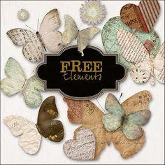 freebies butterflies