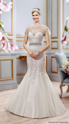 DressilyMe Bridal Dresses Online,Wedding Dresses Ball Gown, fabulous tulle scooneckline mermaid wedding dresses with detachable shawl Bridal Dresses Online, 2016 Wedding Dresses, Wedding Bridesmaid Dresses, Wedding Attire, Beautiful Wedding Gowns, Beautiful Dresses, Dress Vestidos, Bridal Looks, Bridal Collection