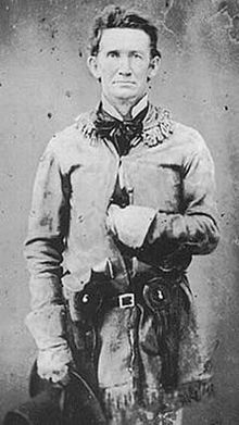 """John S. """"Rip"""" Ford, Texas Ranger - He commanded the Confederate forces in the last engagement of the American Civil War. Texas History, Us History, American Civil War, American History, Native American, American Art, Old West Photos, Confederate States Of America, Into The West"""
