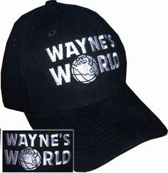 Waynes World Hat Garth Wayne Campbell Wayne's by NiftyShirts