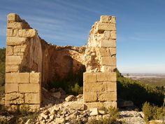Capilla oeste del convento del Desierto de Calanda. Fotografía de Anjolm, 2009, publicada originalmente en Panoramio (servicio de Google desaparecido)