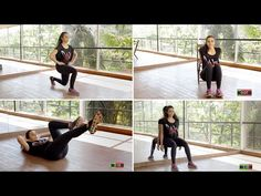 Domácí 4 minutové cvičení pro celé tělo! Výsledky jsou neuvěřitelné! | Milujeme cvičení