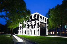karl lagerfeld   HPP architects: schwarzkopf lightbox - designboom | architecture