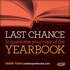 Create urgency around your #Yearbook this spring #Jostens
