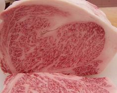 kobe beef luv the nice marbling the best in japan Kobe Steak, Kobe Beef, Steaks, Wagyu Beef, Wagyu Ribeye, Nike Air Max 2012, Nike Headbands, Cake Gallery, Gastronomia