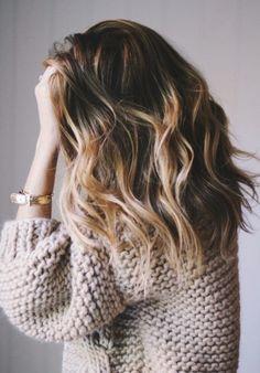 Golden tipped hair goals