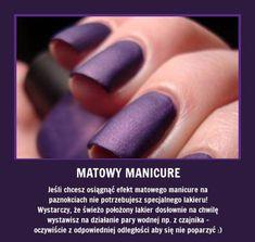 MATOWY manicure w dowolnym kolorze w kilka sekund!