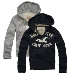 Hollister 'California' Mens Heritage Waffle Lined Hoodie $59.50