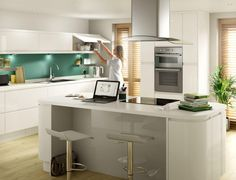 A kitchen island that doubles as a breakfast bar is a great addition to the hub of the home. Cook, eat, relax or work here, the choice is most definitely yours.