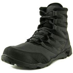 b4d92224ea82e New Balance 221 Men Leather Black Combat Boot Black Work Boots, Black  Combat Boots,
