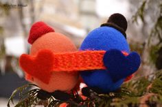 Woolen Street • Мастерская войлочных игрушек