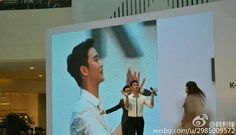 """awesome Kim Soo Hyun - Preview pictures """"K-Beauty Show"""" in Hangzhou, China. Dispensation of The Face Shop (02/09/2015)"""