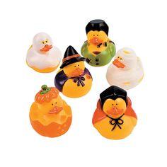 Halloween Rubber Duckies - OrientalTrading.com