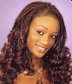 braided hairstyles for black women | Braided Hairstyle » Pretty Black Women Hairstyle With Half Braids ...