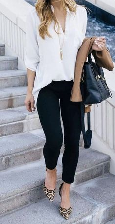 Elegant Summer Outfits, Spring Work Outfits, Casual Work Outfits, Mode Outfits, Work Casual, Fashion Outfits, Casual Fall, Winter Outfits, Dress Casual