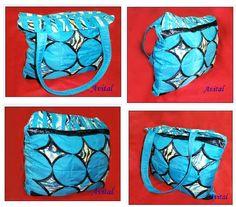 Bag with patchwork technique, cathedral window - square, another method, step by stepBolso con la técnica de patchwork, ventana de catedral  - cuadrado , otro metodo , paso a paso