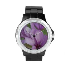 Fuchsia Petals Watch