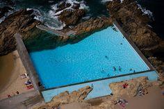 Piscina de Leça da Palmeira | Leça Swimming Pool  1966 | © Fernando Guerra…